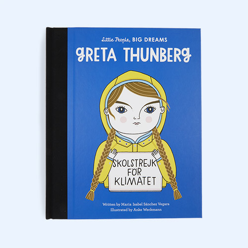 Blue bookspeed Little People Big Dreams: Greta Thunberg