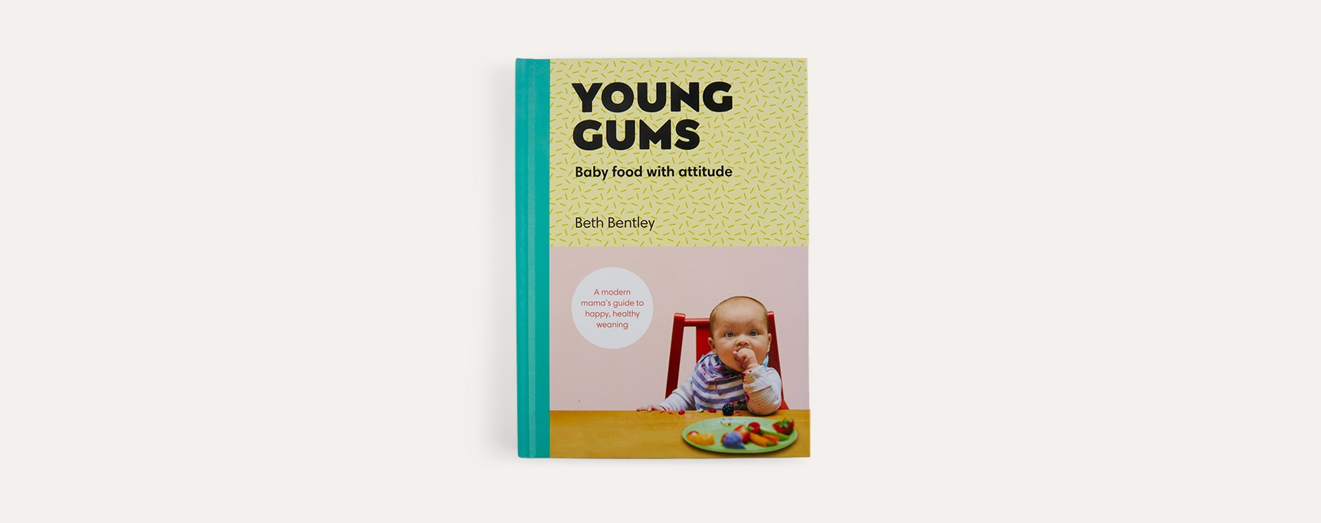 Pink bookspeed Young Gums: Baby Food With Attitude