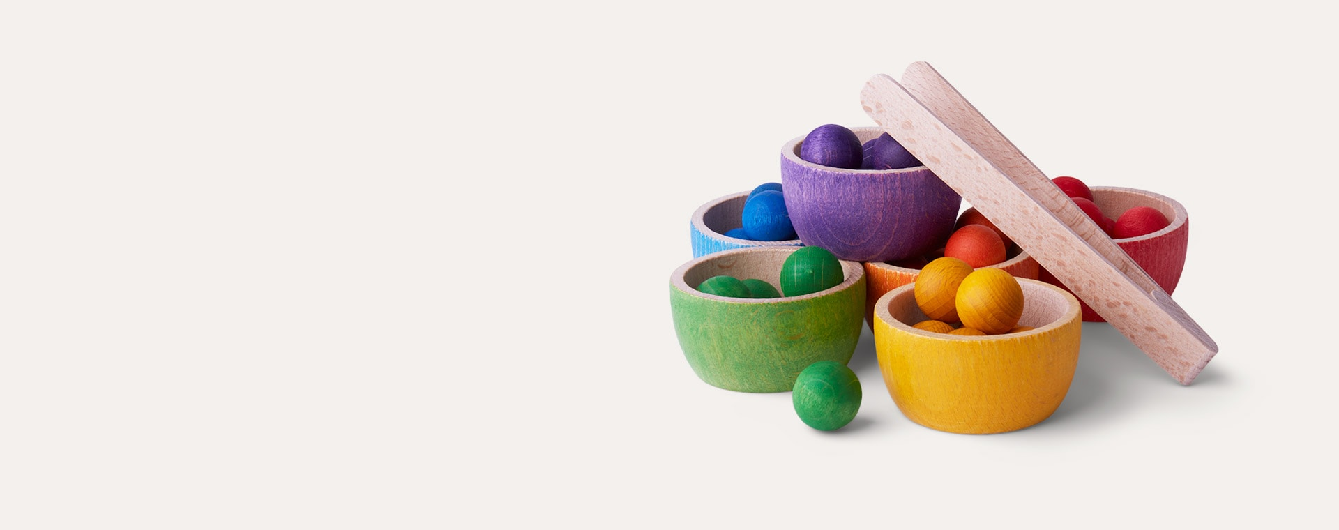 Multi Grapat Bowls and Marbles