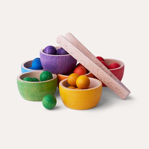 Multi Grapat Bowls and Marbles
