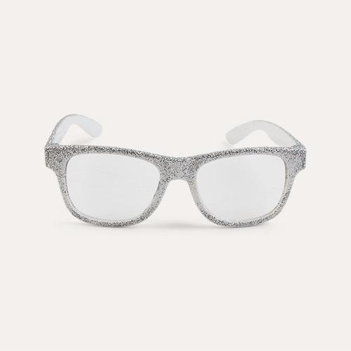 Silver Mimi & Lula Glittery Glasses