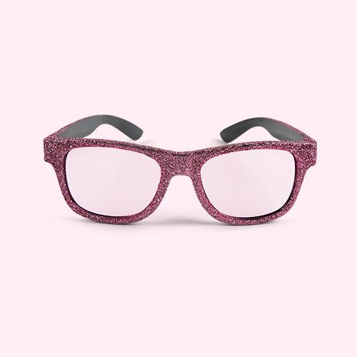 Pink Mimi & Lula Glittery Glasses