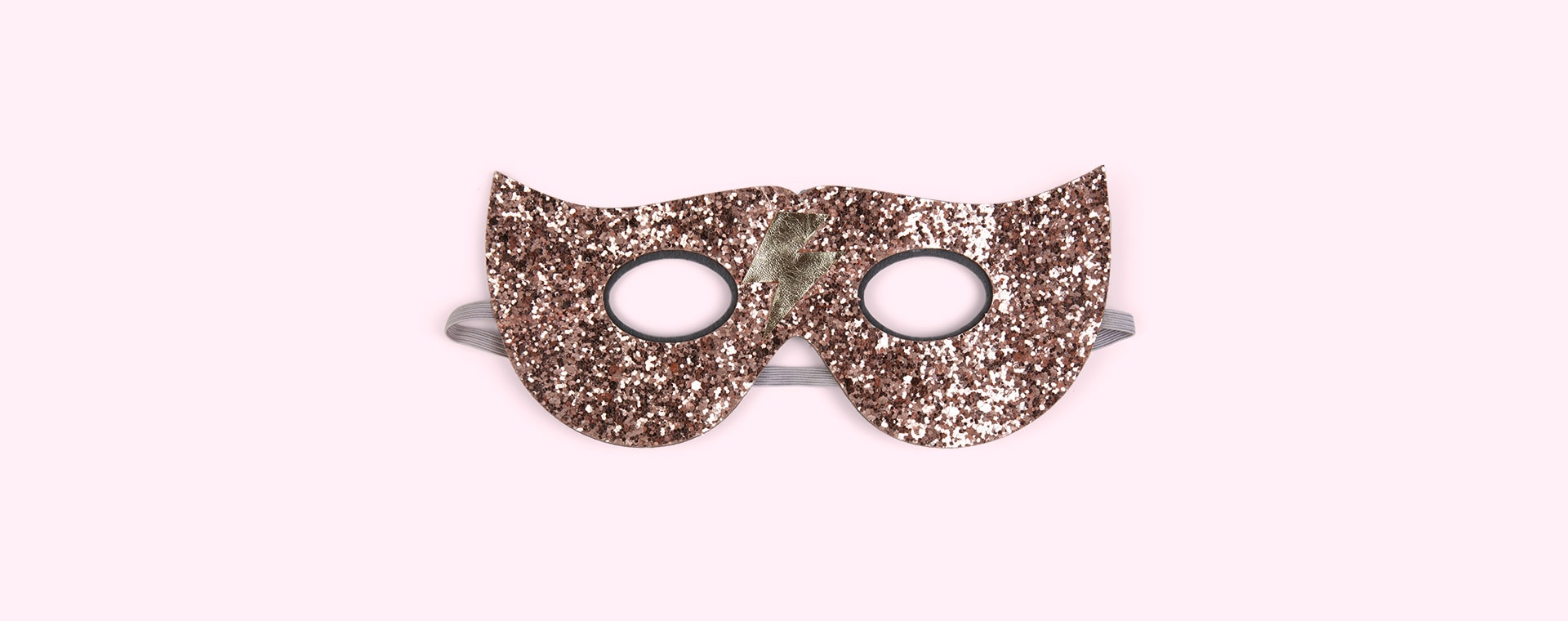 Pink Mimi & Lula Glitter Lightening Superhero Mask