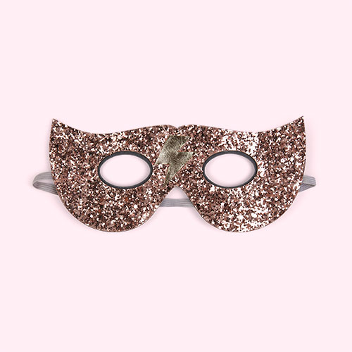Pink Mimi & Lula Glitter Lightening Superhero Mask