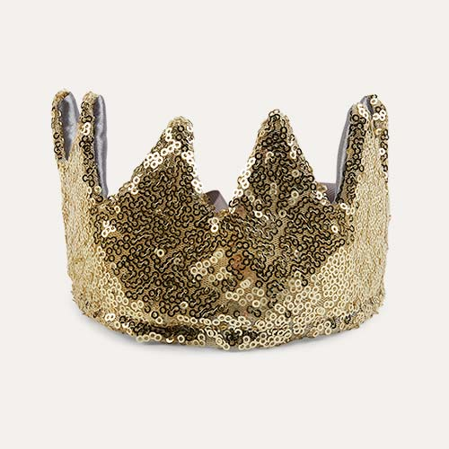 Gold Mimi & Lula Sequin Crown