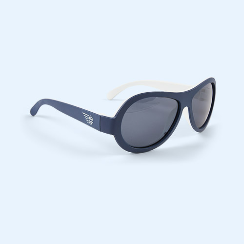 Nautical Navy Babiators Aviator Sunglasses