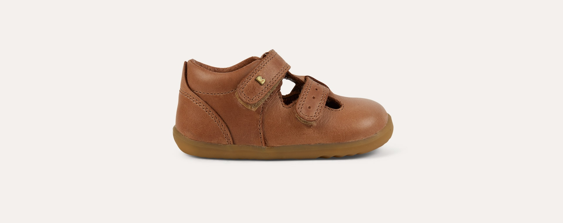 Caramel Bobux Step-Up Jack n Jill Shoe