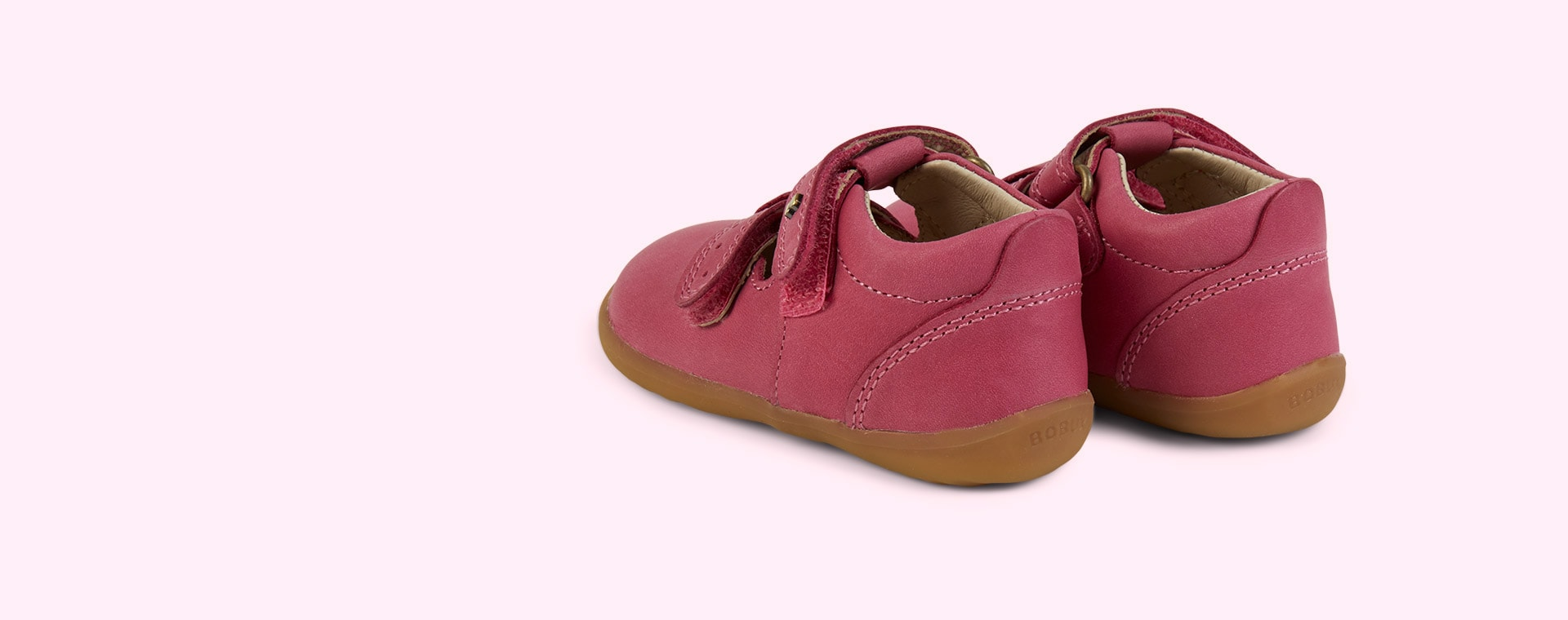 Pink Bobux Step-Up Jack n Jill Shoe