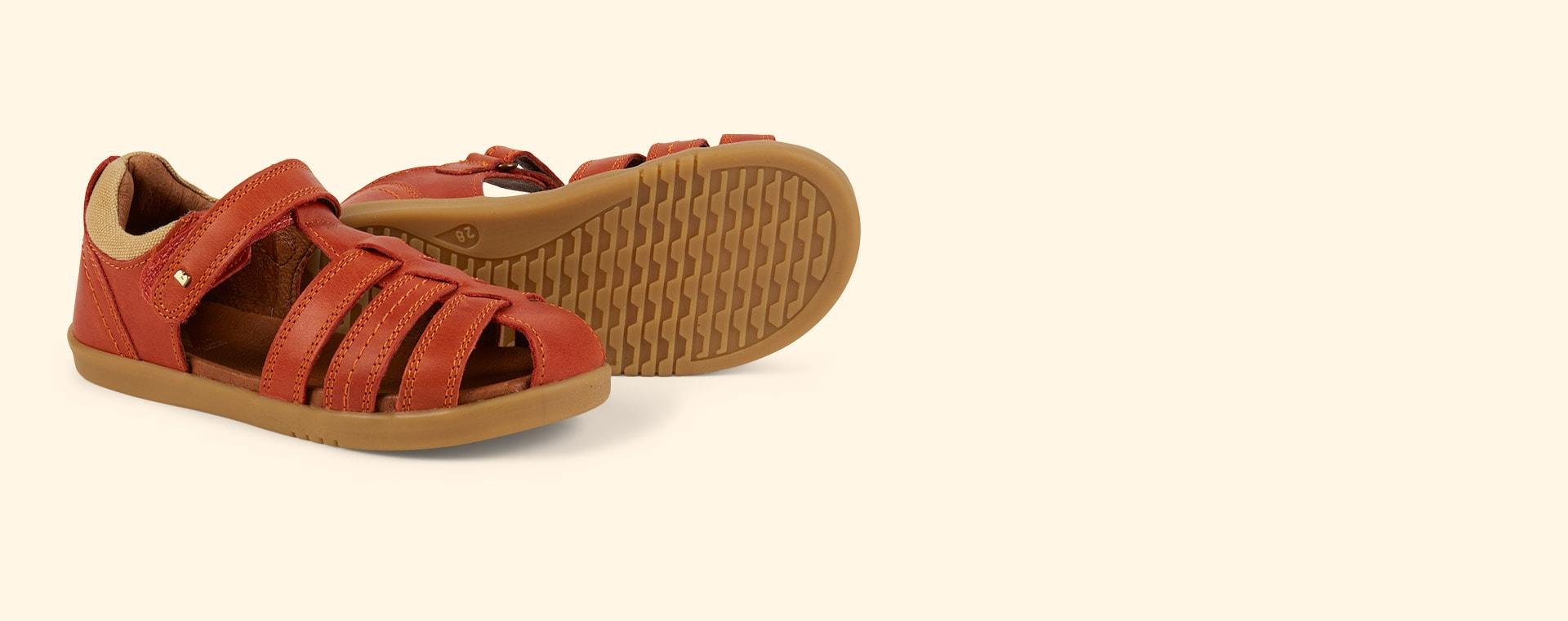 Paprika Bobux Kid+ Roam Sandal