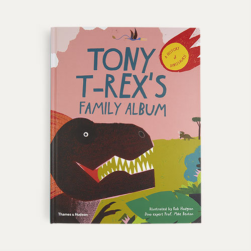 Pink Thames and Hudson Tony T-Rex's Family Album