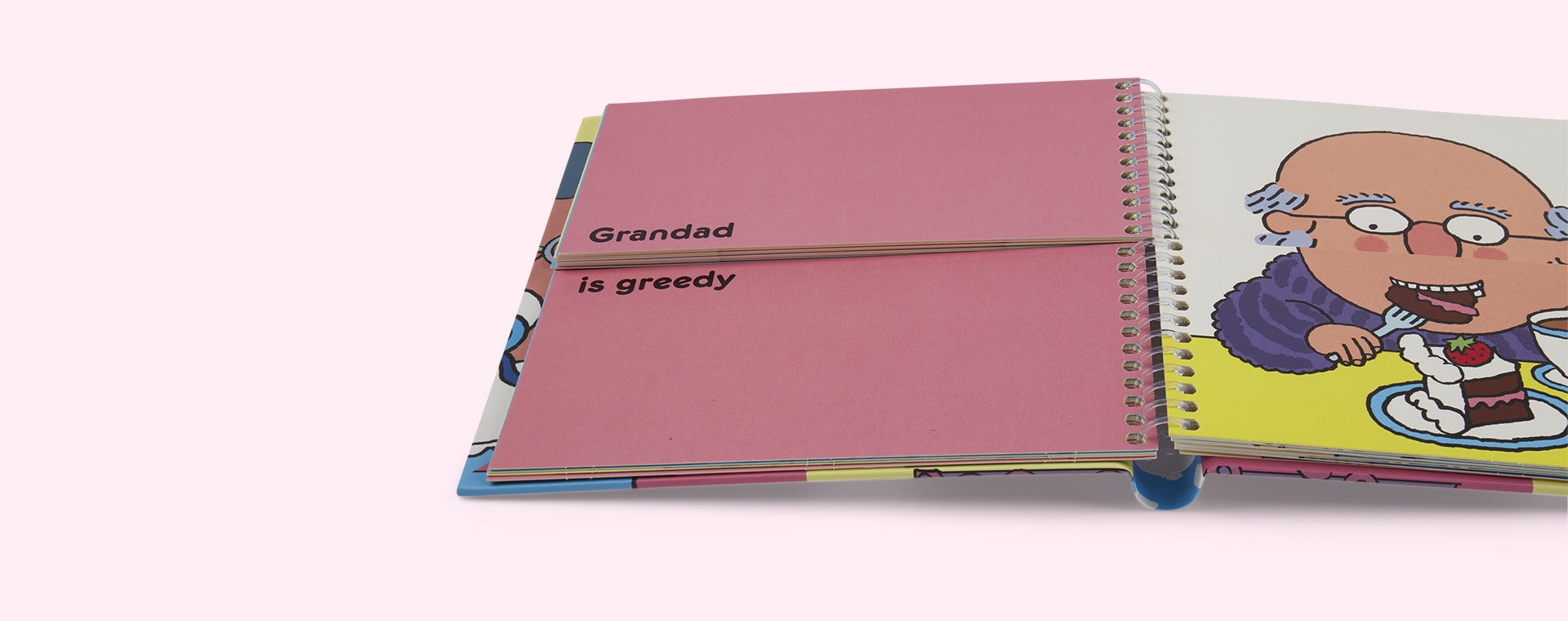 Pink Thames and Hudson Family Flip Flap