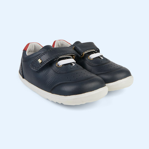 Navy Bobux Step-Up Ryder Trainer