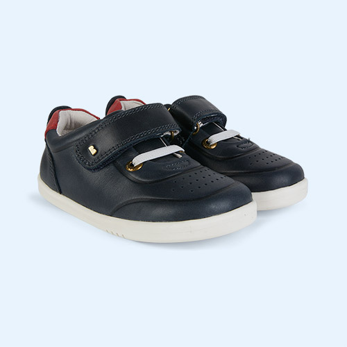 Navy Bobux I-Walk Ryder Trainer