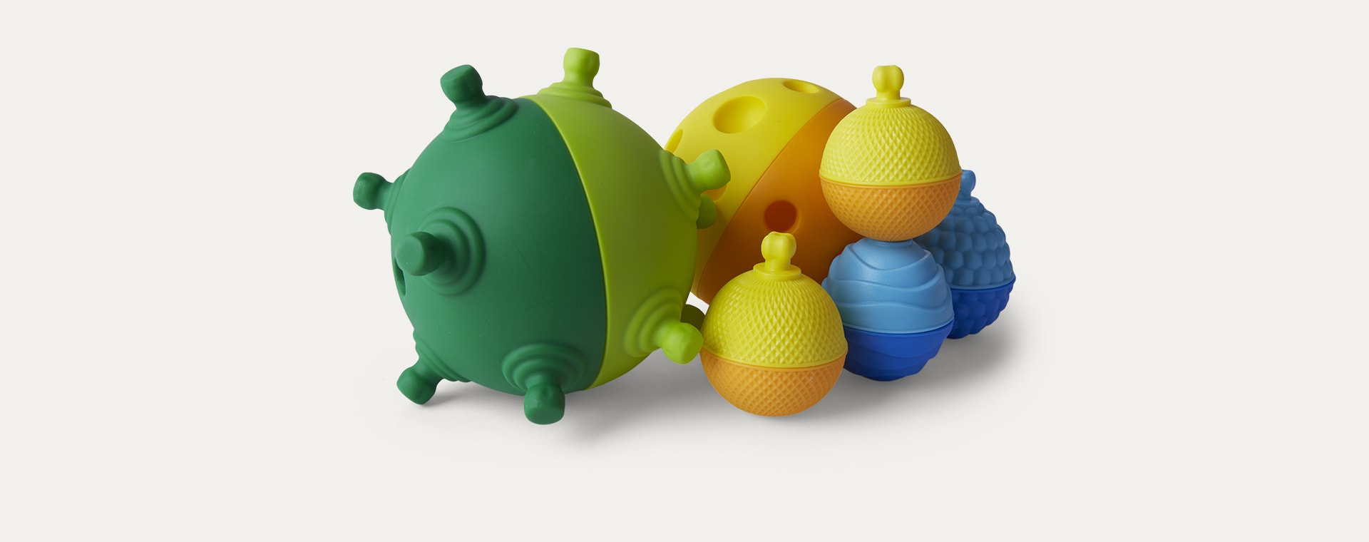 Multi Lalaboom 2 Sensory Balls And Beads - 12 Pieces
