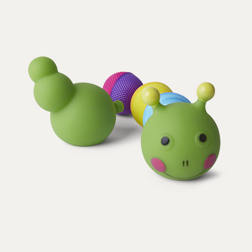 Multi Lalaboom 8 Piece Beads Bath Caterpillar