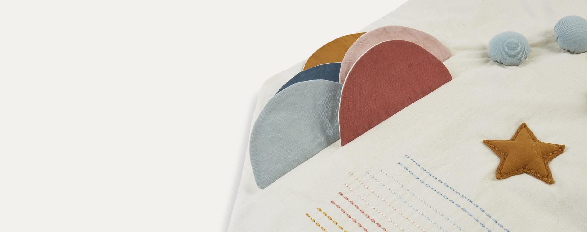 Rainbow Fabelab Activity Blanket