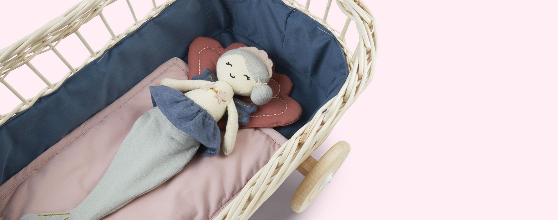 Shell Fabelab Doll Bedding