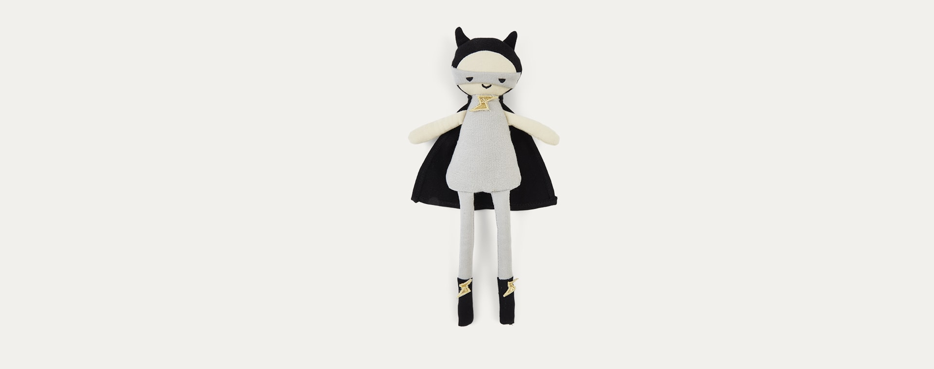 Grey Fabelab Superhero Doll