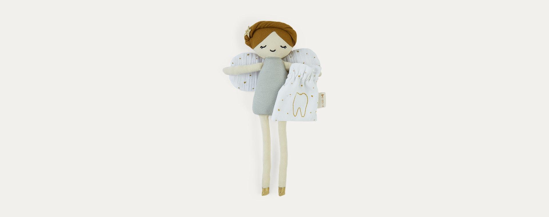 Grey Fabelab Tooth Fairy Doll