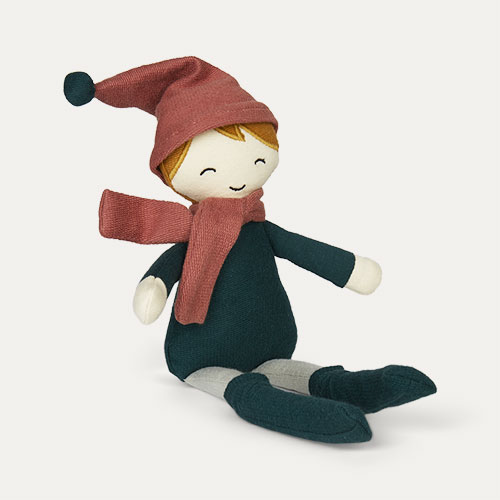 Green Fabelab Elf Boy Doll