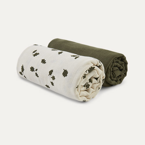 Oak Leaf Fabelab Swaddle 2 Pack
