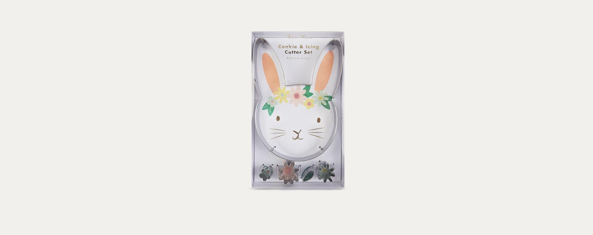 Multi Meri Meri Floral Bunny Cookie Cutters