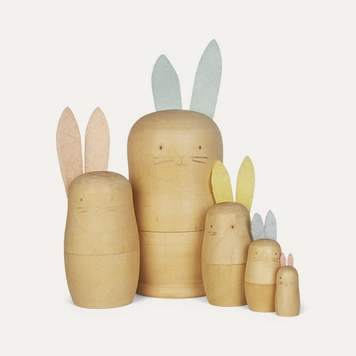 Neutral Meri Meri Stacking Bunnies