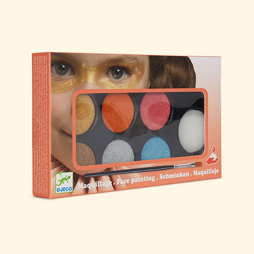 Metaliic Djeco Face Paint Set