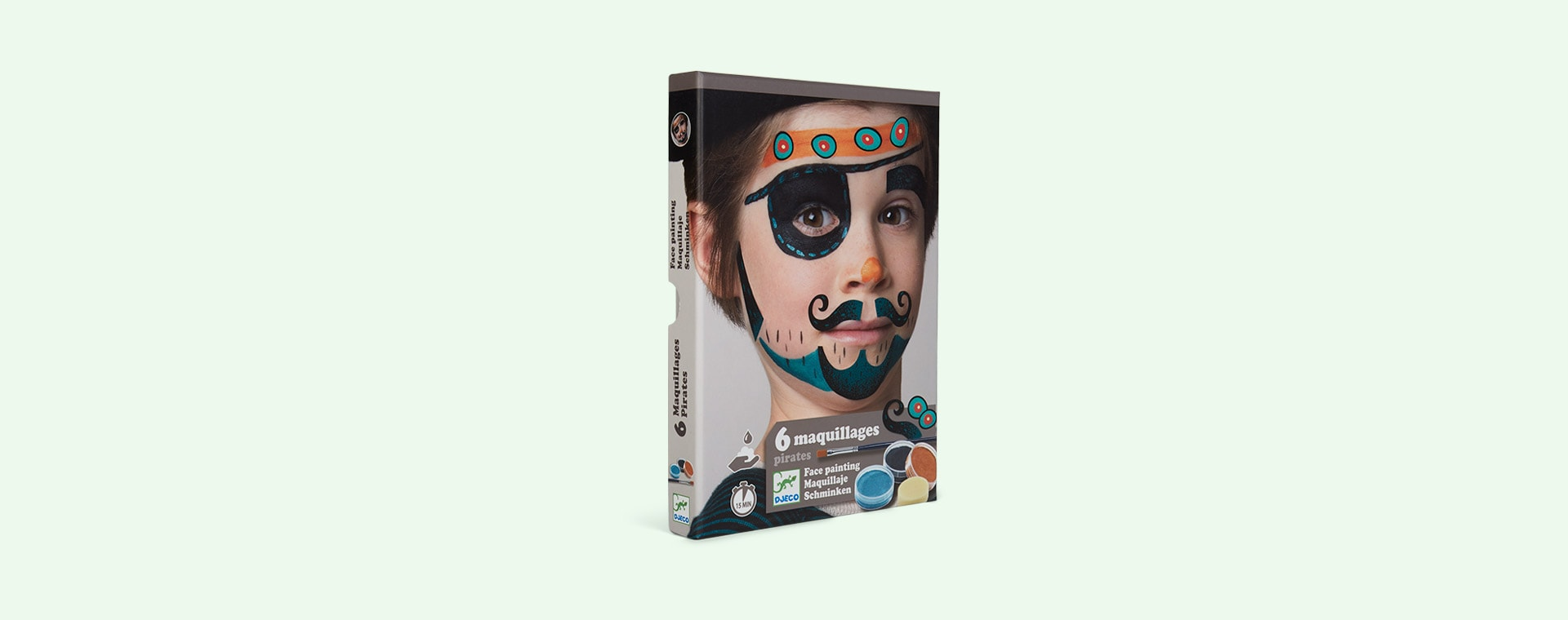 Pirate Djeco Face Paint Dress Up Set