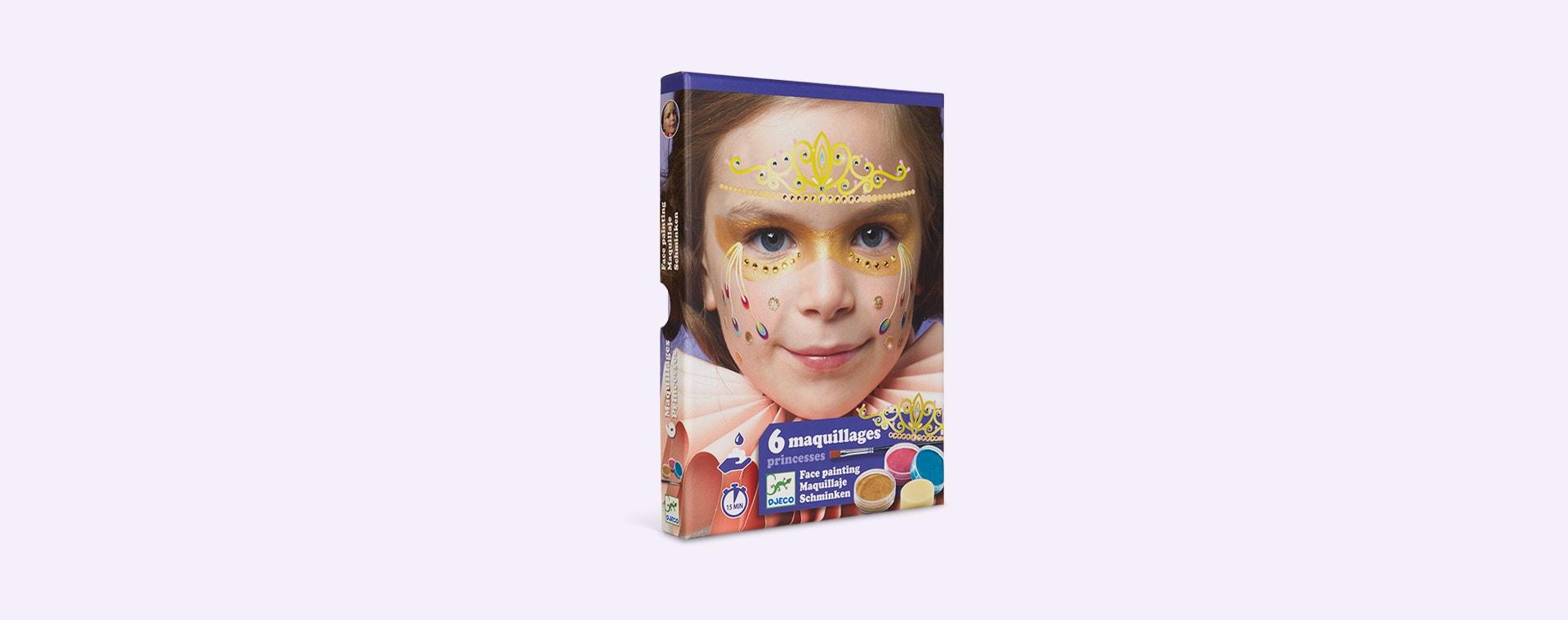 Princess Djeco Face Paint Dress Up Set