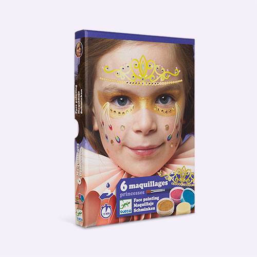Princess Djeco Face Paint Dress Up Set