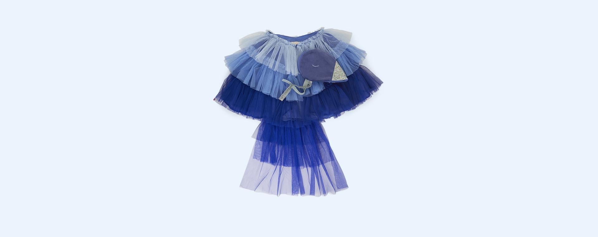 Blue Meri Meri Blue Bird Cape Dress Up