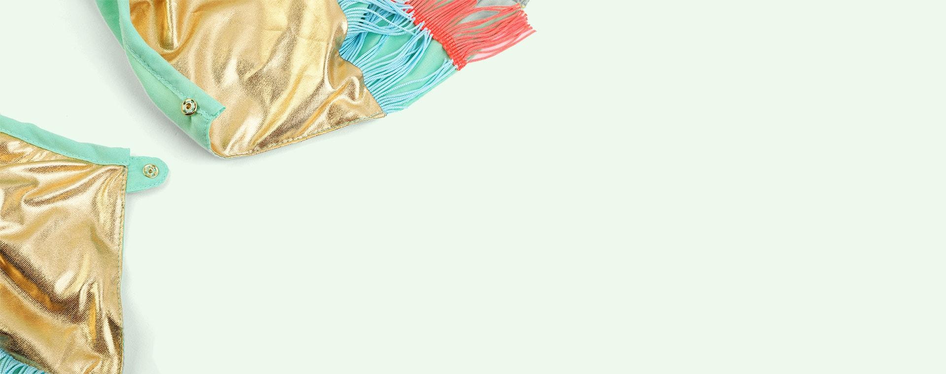 Multi Meri Meri Parrot Fringed Cape Dress up