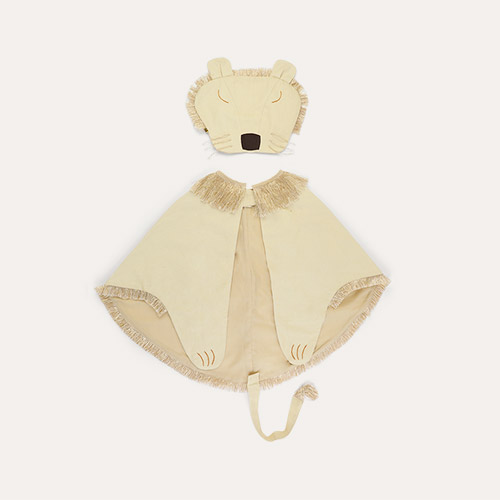 Gold Meri Meri Lion Dress Up Cape
