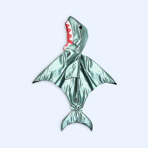 Green Meri Meri Shark Cape Dress up