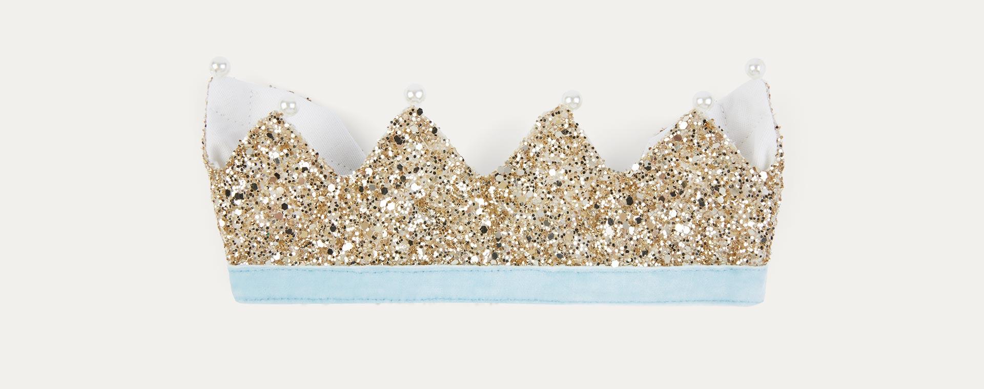 Gold Meri Meri Gold Glitter Crown