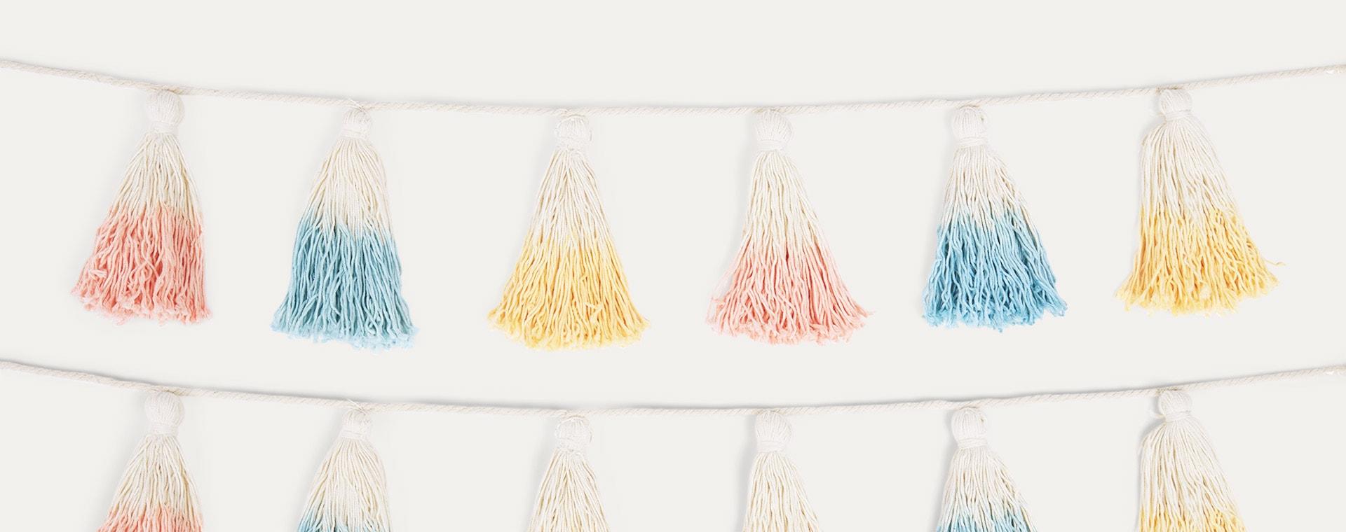 Multi Meri Meri Dip Dyed Tassel Garland