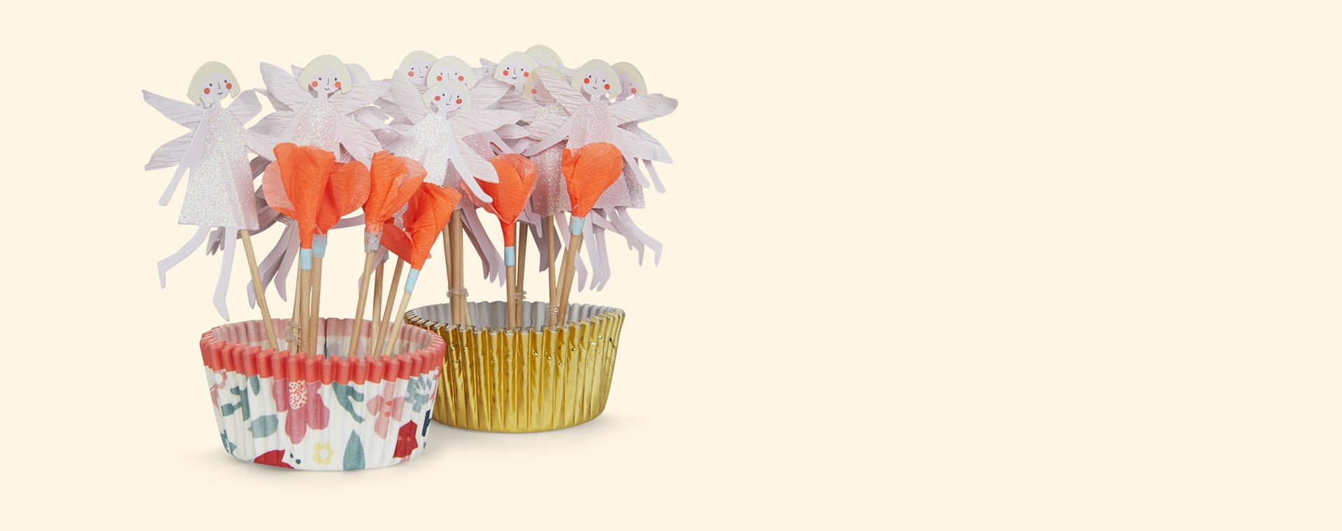 Flower Fairy Meri Meri Cupcake Kit