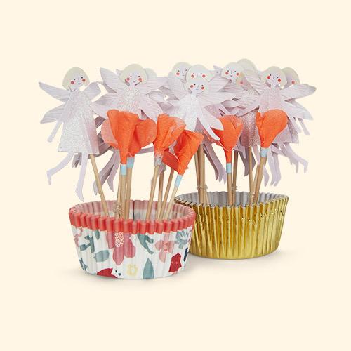 Flower Fairy Meri Meri Cupcake Kit