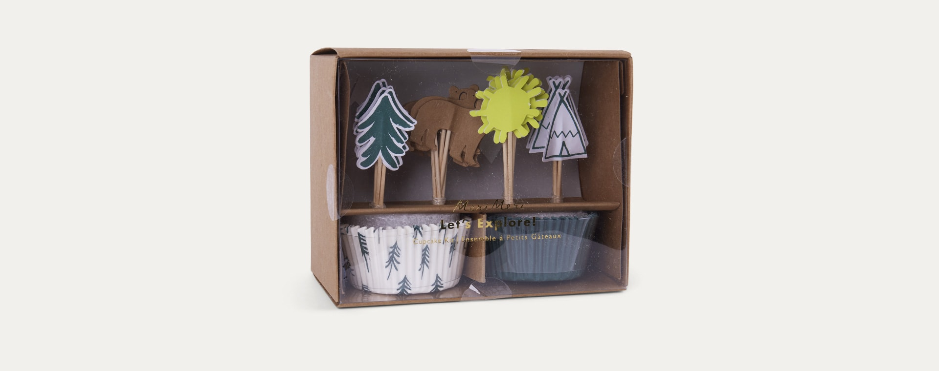 Lets Explore Meri Meri Cupcake Kit