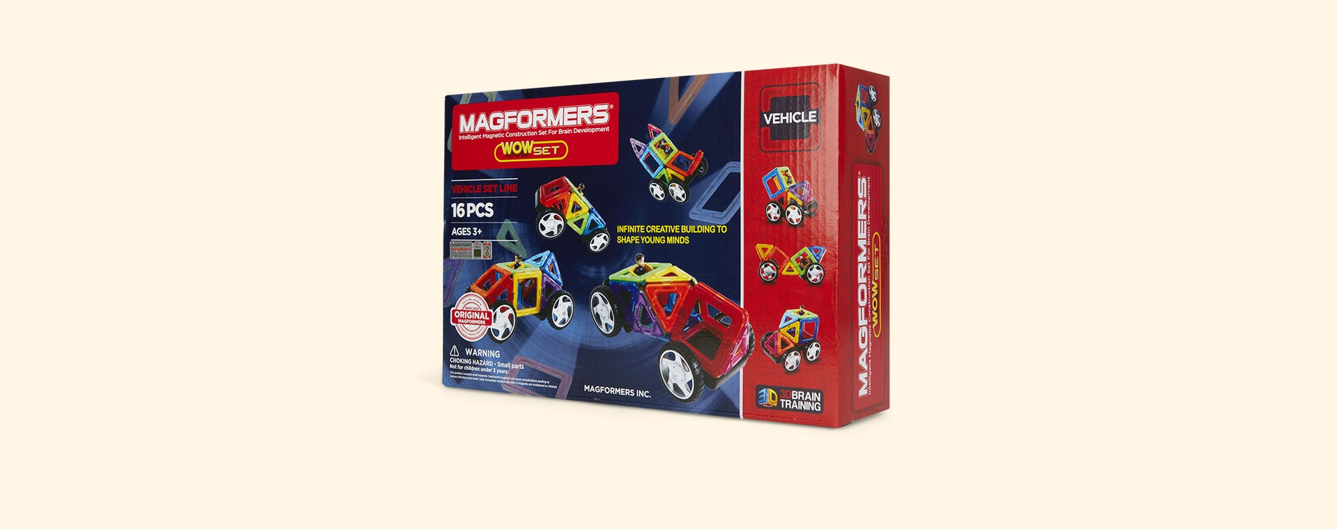 Multi Magformers Magformers Wow Set 16pc