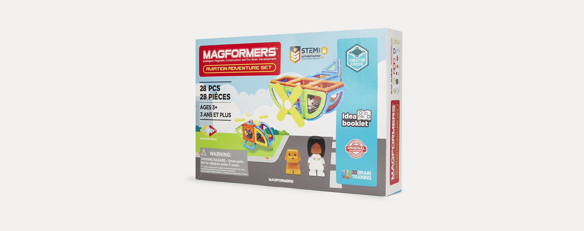 Multi Magformers Aviation Adventure Set