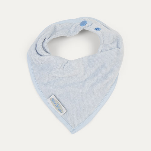 Dusty Blue Silly Billyz Bandana Bib