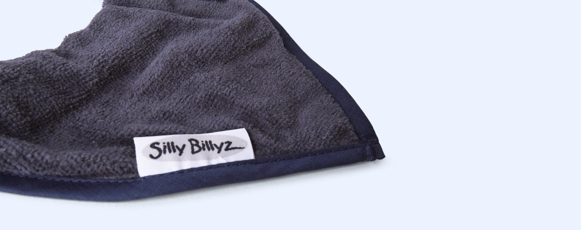 Navy Silly Billyz Bandana Bib