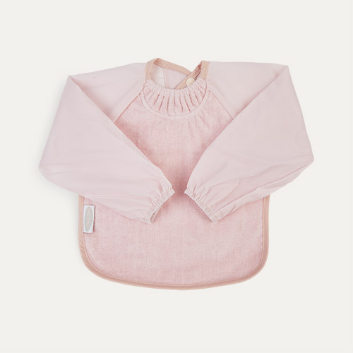 Antique Pink Silly Billyz Long Sleeve Bib