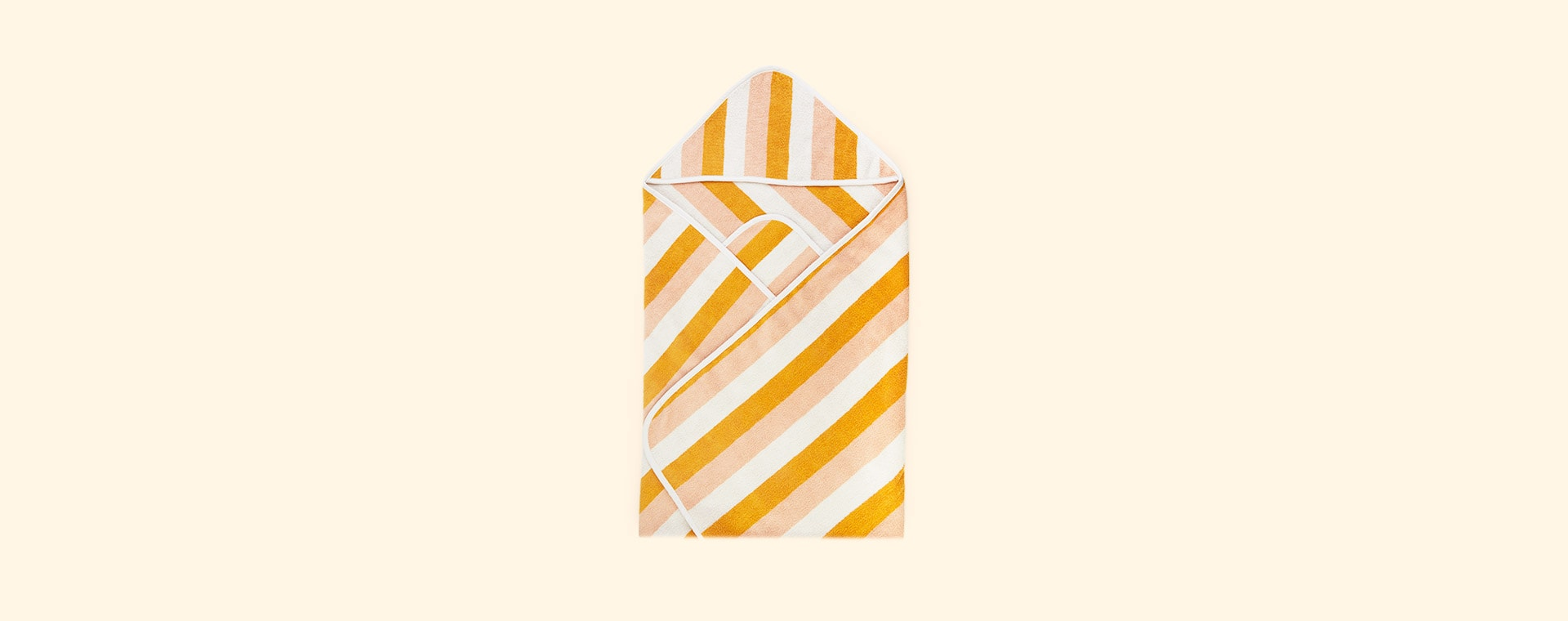 Peach Sandy Yellow Mellow Liewood Louie Hooded Junior Towel