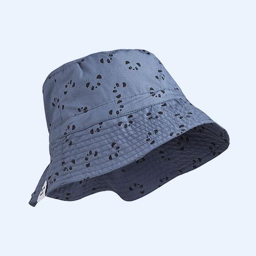 Panda Blue Wave Liewood Sander Sun Hat