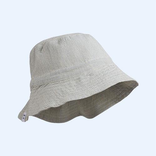 Sea Blue/Creme De La Creme Liewood Sander Sun Hat