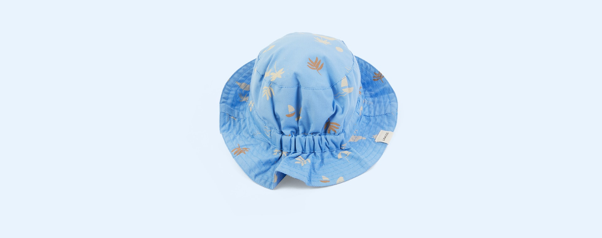Seaside Sky Blue Liewood Sander Sun Hat