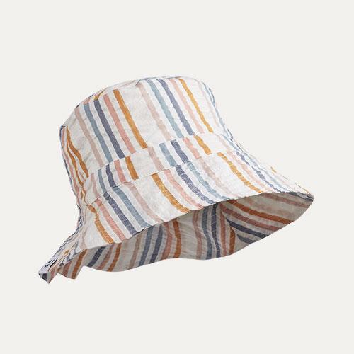 Multi Stripe Liewood Sander Sun Hat